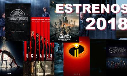 Los estrenos más esperados del 2018