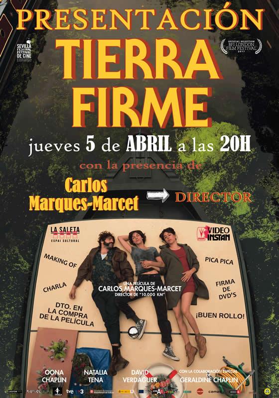 Presentación DVD de la película Tierra Firme