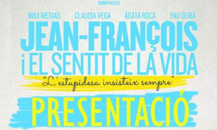 Presentación DVD Jean-François y el sentido de la vida