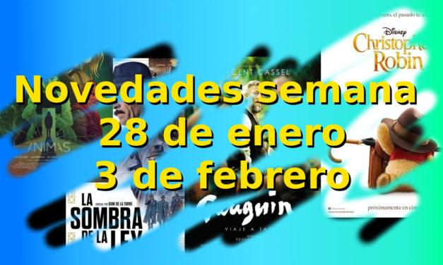 Novedades en DVD y BR para la semana del 28 al 3 de febrero