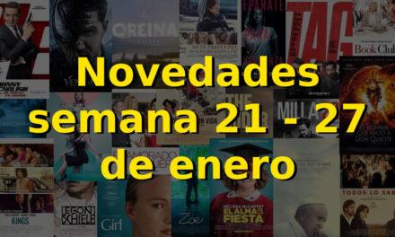 Novedades en DVD y BR para la semana del 21 – 27 de enero