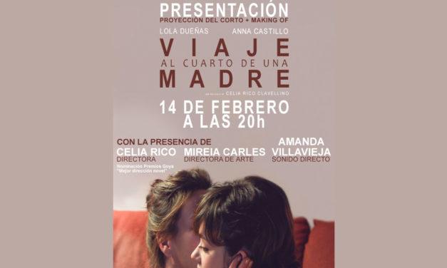 Presentación en DVD y BR de la película Viaje al cuarto de una madre.