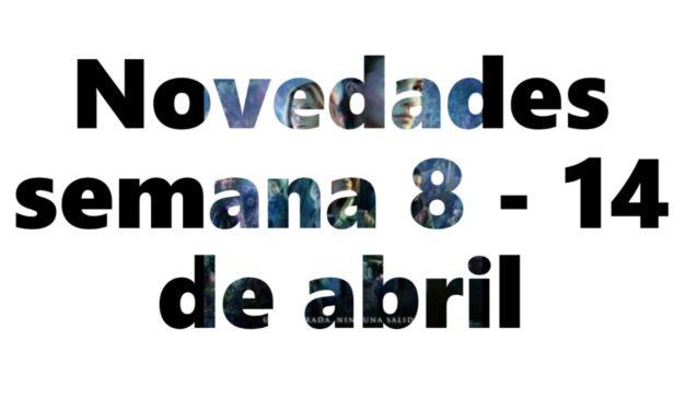 Novedades en DVD y BR para la semana del 8 al 14 de abril